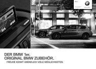 DER BMW 1er. ORIGINAL BMW ZUBEHÖR. FREUDE ... - Pielmeier