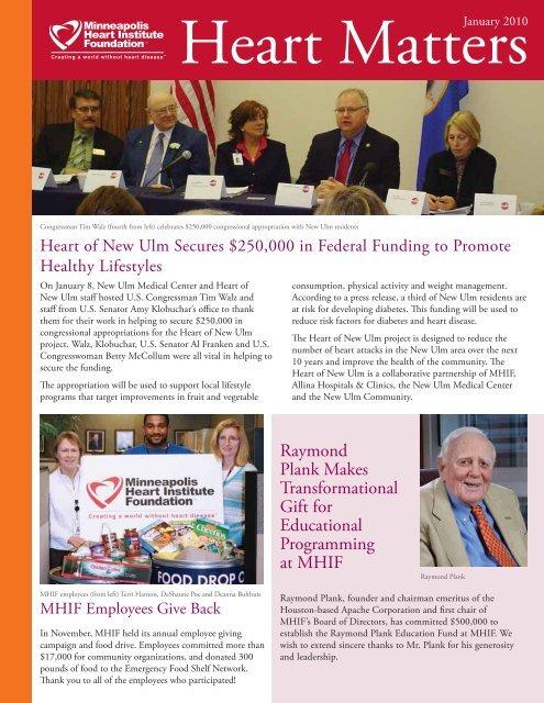 January 2010 - Minneapolis Heart Institute Foundation
