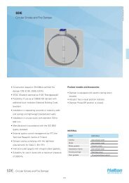 Circular Smoke and Fire Damper - Halton
