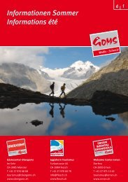 INFORMATIONEN GOMS SOMMER 2012 D/F - CommuniGate Pro ...