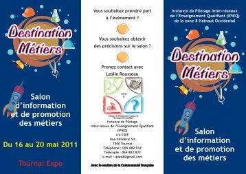 Flyer Destination Métiers.indd - CSEF