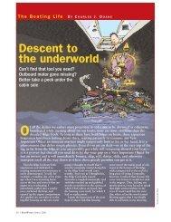 Descent to the underworld - Sail Magazine