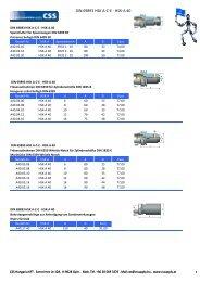 DIN 69893 HSK A-C-E - HSK-A 40