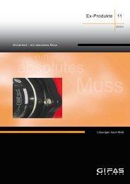 Katalog herunterladen - GIFAS W.J. Gröninger ELECTRIC GmbH