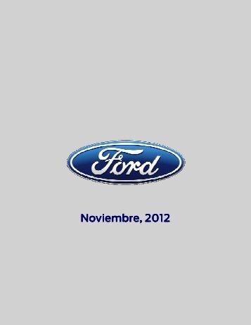 alarma - Ford