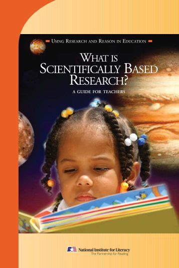 What is Scientifically Based Research - NYS RtI TAC
