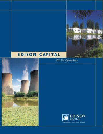 EDISON CAPITAL - Edison International