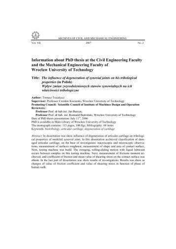 Transportation Engineering MS/PhD in Civil and Environmental