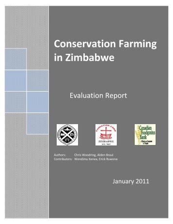 Conservation Farming in Zimbabwe - Evaluation Report. - Canadian ...