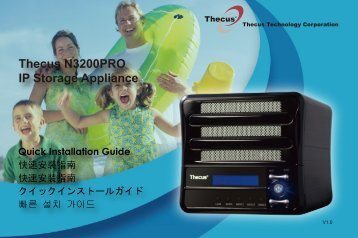 Thecus N3200PRO IP Storage Appliance