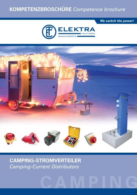 Camping Stromverteiler Camping Current Distributors