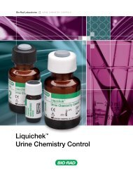 Liquichek™ Urine Chemistry Control - QCNet