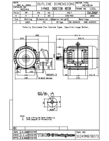OL_M0044 Model (1) - TECO-Westinghouse Motor Company