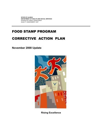 November 2008 Food Stamp Correction Action Plan - DPAweb ...