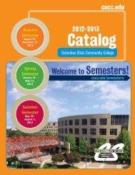 2012-2013 Catalog - Columbus State Community College