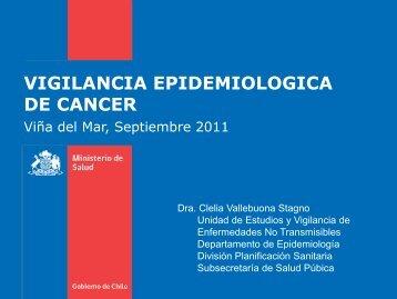 vigilancia epidemiologica de cancer - SEREMI de Salud Región ...
