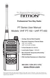 Tad M8 M-8 VHF Radio Programming Cable