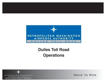 Dulles Toll Road Operations