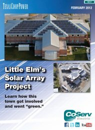 Little Elm's Solar Array Project - CoServ.com