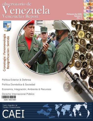 Observatorio de Venezuela - Primavera Sur 2009 - CAEI