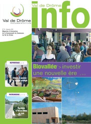 MAG 22 - Communauté de Communes du Val de Drôme