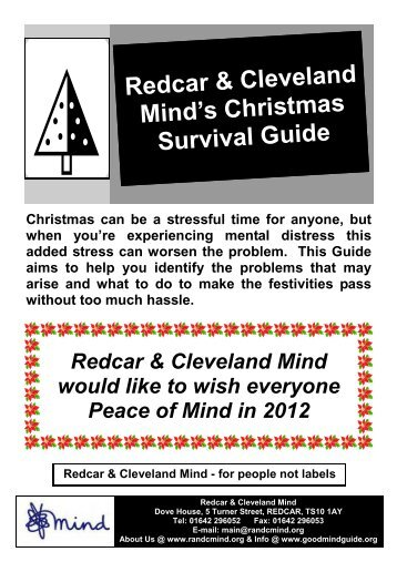 Redcar & Cleveland Mind's Christmas Survival Guide