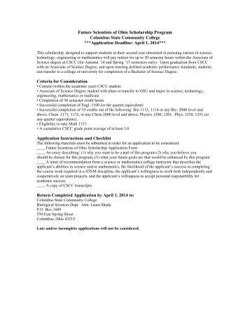 Merit-based scholarships