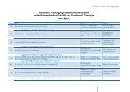 Ablauf mündliche Studiengangs-/Studienfachevalution
