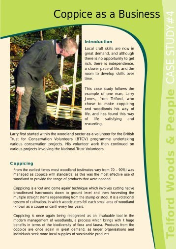 Case Study 4 - Severn Gorge Countryside Trust