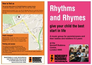 Rhythms and Rhymes - Nordoff Robbins