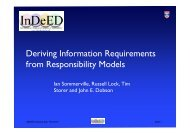 Deriving Information Requirements from Responsibility Models