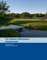 U.S. Women's Mid-Amateur Championship - USGA