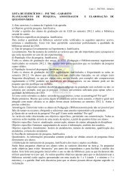 LISTA DE EXERCÍCIOS 1 – INE 5122 – GABARITO - UFSC