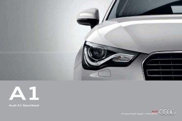 Brosjyre Audi A1 Sportback (8 MB)