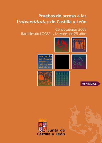 PAU Convocatorias 2009 - IES Ramón y Cajal - Junta de Castilla y ...