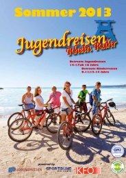 Sommer 2013 - Jugendreisen Rhein Ruhr