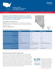 NEVADA - The Institute for Children, Poverty, and Homelessness