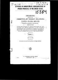 ACTIVITIES OF AGENTS OF FOREIGN PRINCIPALS IN U.S. - IRmep