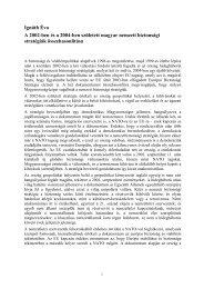 A 2002-ben és a 2004-ben született magyar nemzeti ... - Grotius