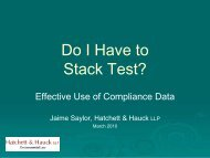 Do I Have to Stack Test? - Inawma.org