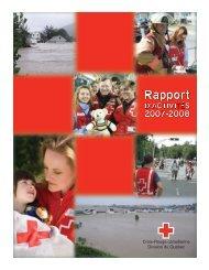 Division du Québec États financiers - Croix-Rouge canadienne