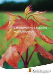 Välkommen till Lövåsens korttidsboende - Katrineholms kommun