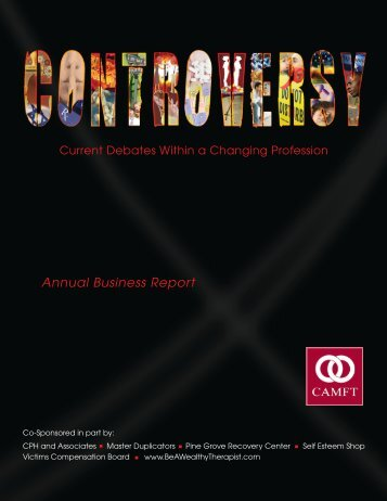 Annual Business Report - CAMFT