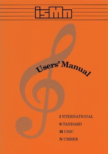 ISMN Users' Manual