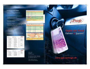 GPS CarMagic V2.0 Broschüre - Johann Nacken  EDV