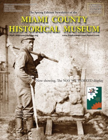 Spring 2013 Edition - Miami County Historical Museum