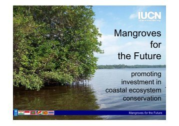 Mangroves for the Future - International Recovery Platform