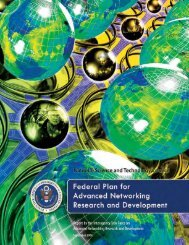 Federal Plan for Advanced Networking Research ... - Office of Science