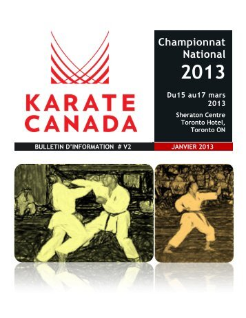 ouvrir le document. - Karate Canada