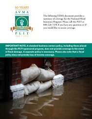 to download a document published by FEMA ... - AVMA PLIT